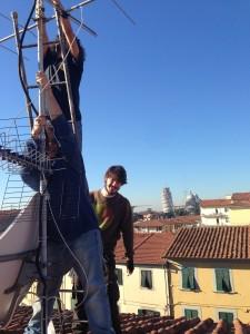 exfausto:cambiamo l'antenna