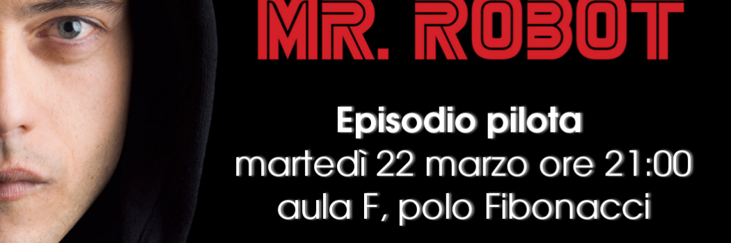 Mr Robot!